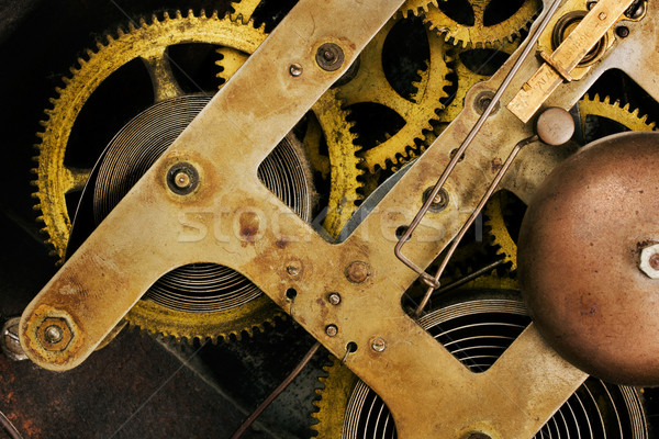 старые часы механизм ретро Смотреть Сток-фото © lucielang