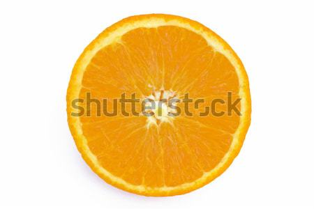 Orange slice vruchten oranje energie kleur heldere Stockfoto © lucielang
