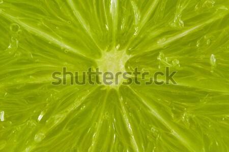 Plakje kalk natuur groene vers Stockfoto © lucielang