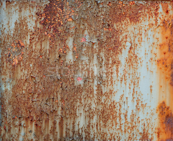 Sheet of ferruginous metal Stock photo © luckyraccoon