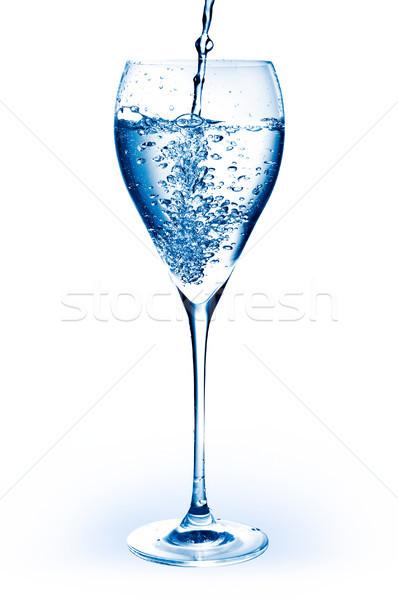 üveg édesvíz izolált fehér víz szín Stock fotó © luckyraccoon
