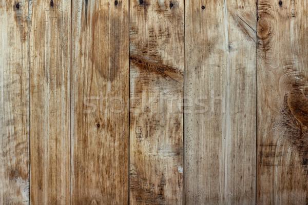 Vecchio intemperie buio legno nessuno Foto d'archivio © luckyraccoon