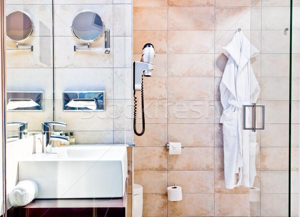 luxury bathroom Stock photo © luckyraccoon
