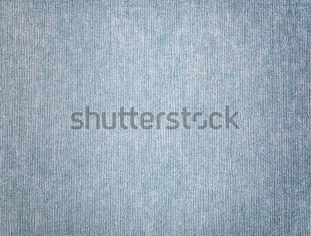 クローズアップ 青 テクスチャ ファブリック 壁 デザイン ストックフォト © luckyraccoon