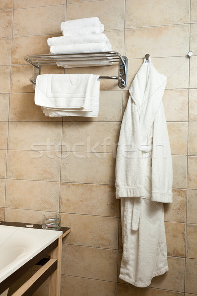 Towels and bathrobes Stock photo © luckyraccoon