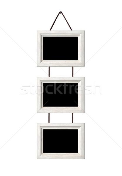 Frames of modern baget Stock photo © luckyraccoon
