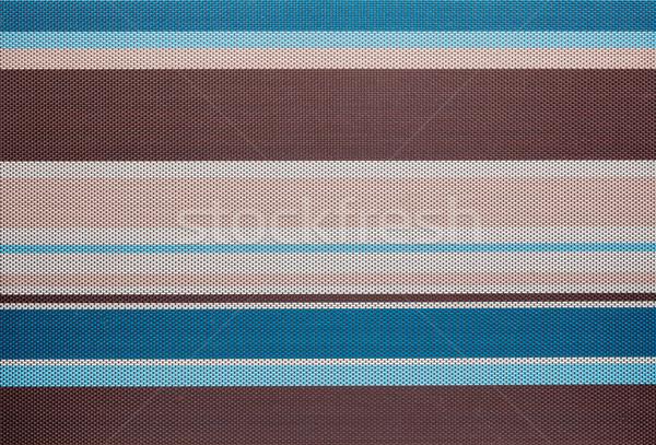 Colorido a rayas tejido textura resumen fondo Foto stock © luckyraccoon