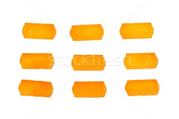 Naranja notas blanco negocios papel diseno Foto stock © luckyraccoon