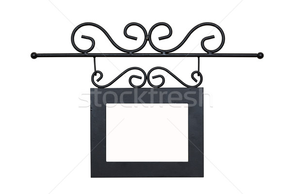 This is a photo of the metal frame Stock photo © luckyraccoon