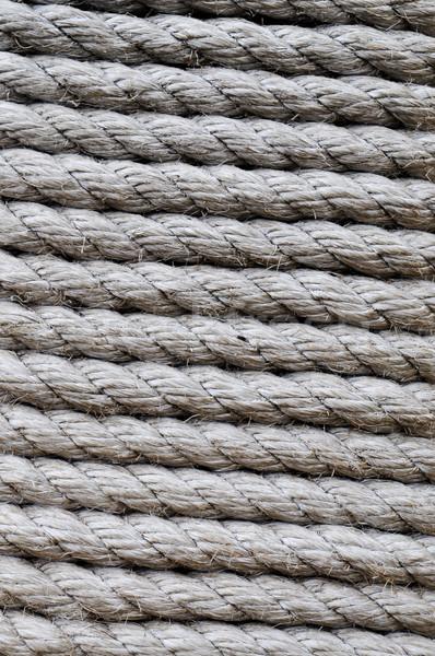 Corda texture sfondo nave pattern oggetto Foto d'archivio © luckyraccoon