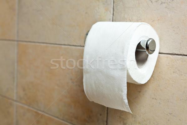 Toilet paper Stock photo © luckyraccoon
