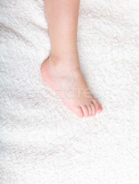 Baby's pretty leg  Stock photo © luckyraccoon