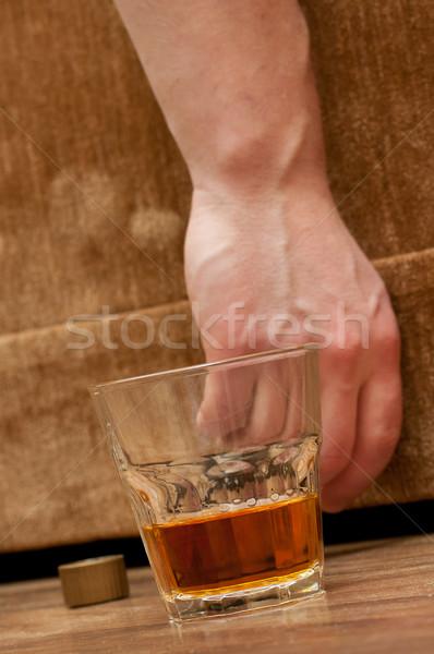 alcohol abuse concept image Stock photo © luckyraccoon