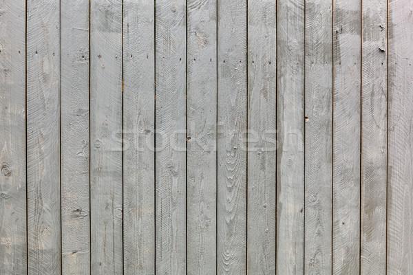 Old wooden weathered planks texture. Stock photo © luckyraccoon