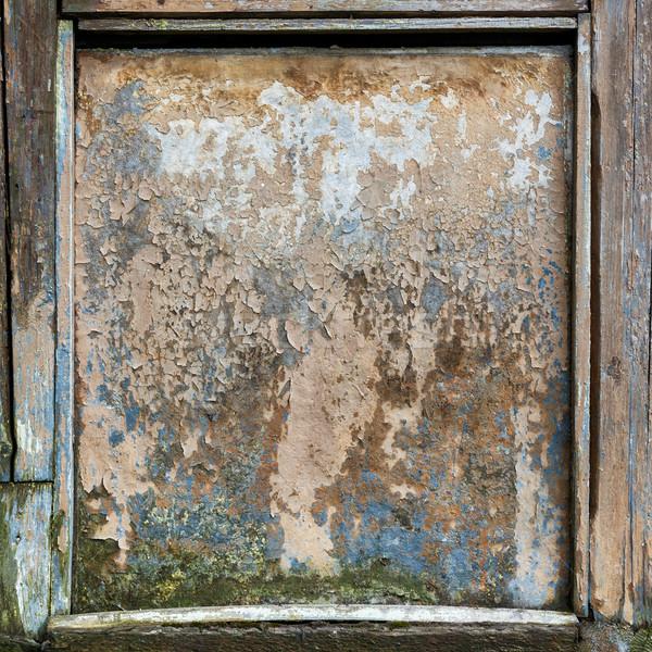 Houten oude vuile boord frame Stockfoto © luckyraccoon