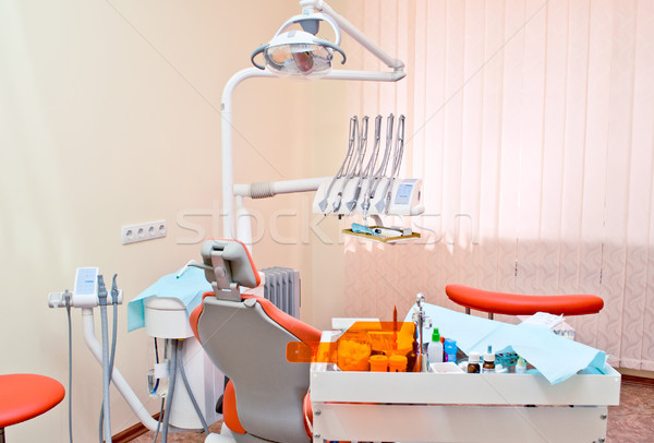 современных стоматологических служба медицинской свет инструменты Сток-фото © luckyraccoon
