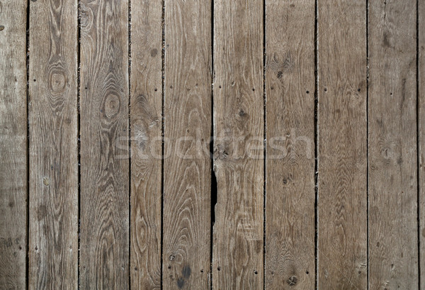 Old wooden weathered planks texture. Stock photo © luckyraccoon