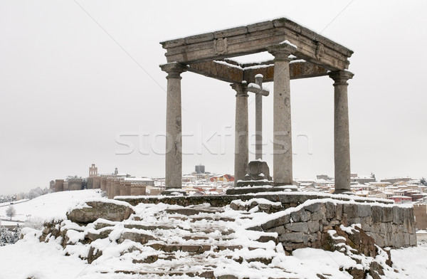 city of Avila Stock photo © luiscar