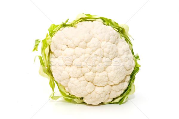 Couve-flor ecológico branco legumes agricultura Foto stock © luiscar