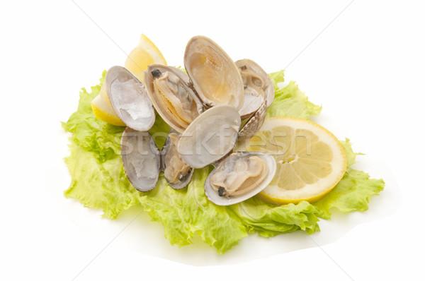 Fraîches affaires alimentaire poissons cool manger Photo stock © luiscar