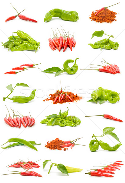 chillies and peppers Stock photo © luiscar