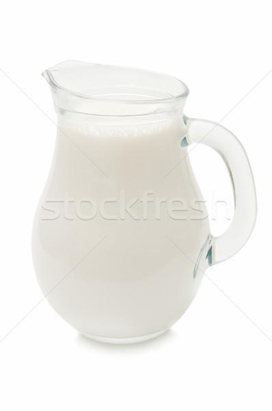 Lait isolé blanche alimentaire Photo stock © luiscar