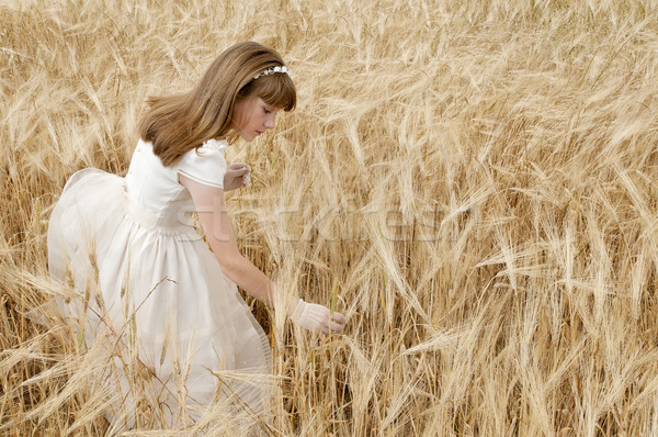 communion girl Stock photo © luiscar