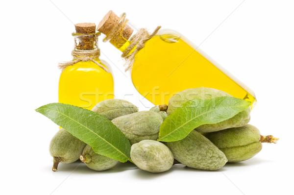 Oleju zielone biały żywności owoców Zdjęcia stock © luiscar