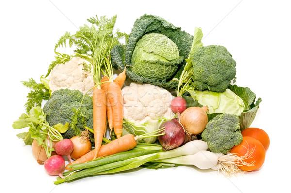 Variedade legumes frescos branco natureza legumes agricultura Foto stock © luiscar
