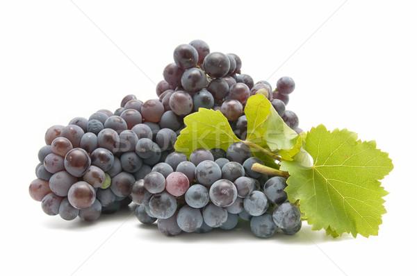 Vinho uvas branco comida fundo Foto stock © luiscar