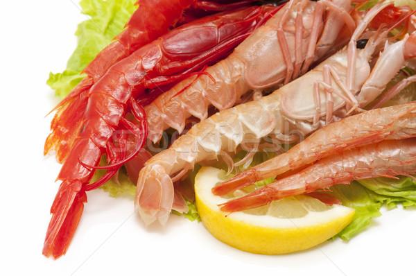 морепродуктов белый бизнеса продовольствие рыбы Сток-фото © luiscar