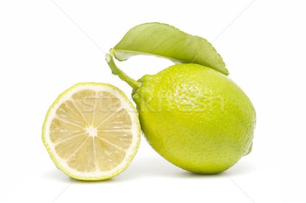 świeże cytryny odizolowany biały żywności owoce Zdjęcia stock © luiscar