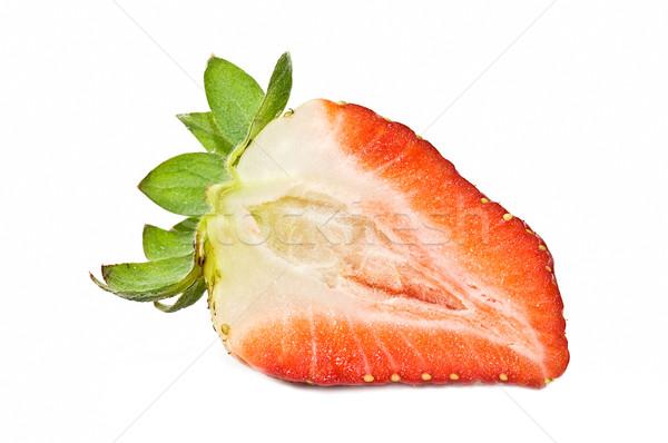 fresh strawberries Stock photo © luiscar