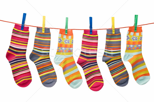 socks on the clothesline Stock photo © luiscar