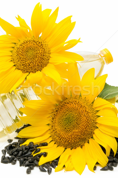 Foto stock: sunflower oil