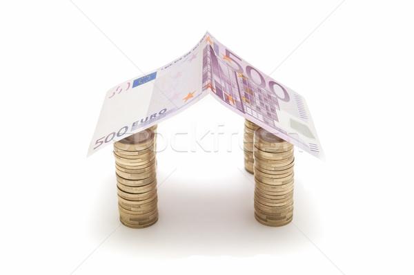 Para yalıtılmış beyaz finanse Stok fotoğraf © luiscar