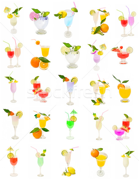 collection of cocktail Stock photo © luiscar