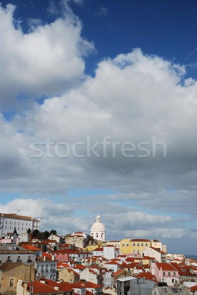 Phanteon or Santa Engracia church in Lisbon Stock photo © luissantos84