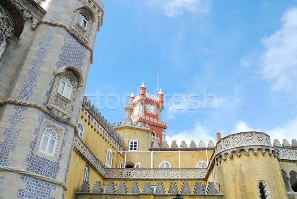 дворец Португалия известный один семь дома Сток-фото © luissantos84