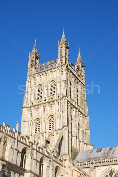 Cattedrale noto Inghilterra Regno Unito chiesa blu Foto d'archivio © luissantos84