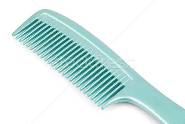 Plastic hairbrush comb Stock photo © luissantos84