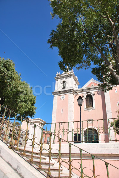 Stock photo: Church of Santos-O-Velho in Lisbon, Portugal