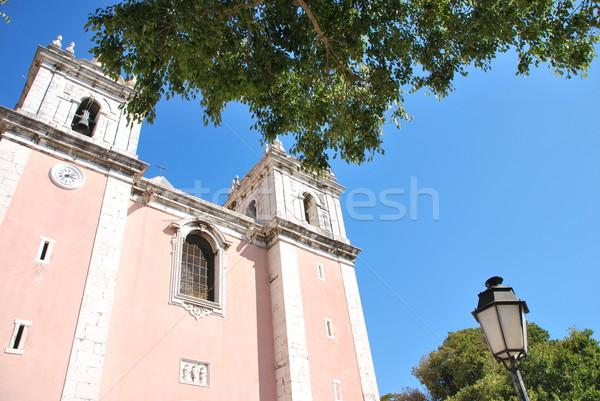 Church of Santos-O-Velho in Lisbon, Portugal Stock photo © luissantos84