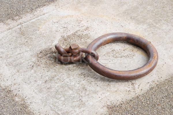 Mooring ring Stock photo © luissantos84