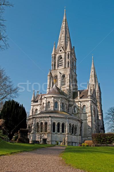 Vin kathedraal kurk Ierland tuin Stockfoto © luissantos84