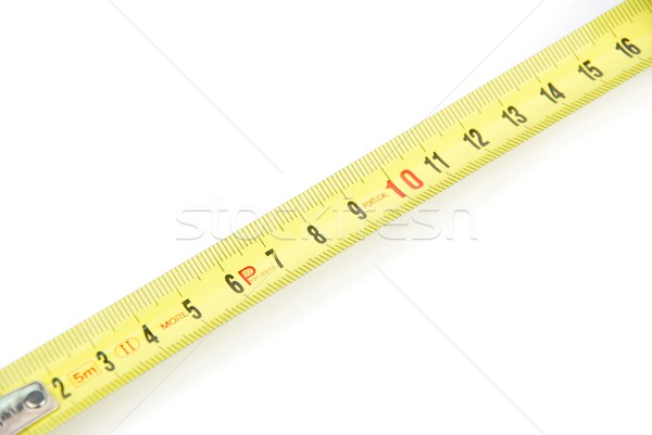 Retractable steel tape measure Stock photo © luissantos84