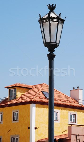 Stockfoto: Lissabon · architectuur · mooie · traditioneel · antieke