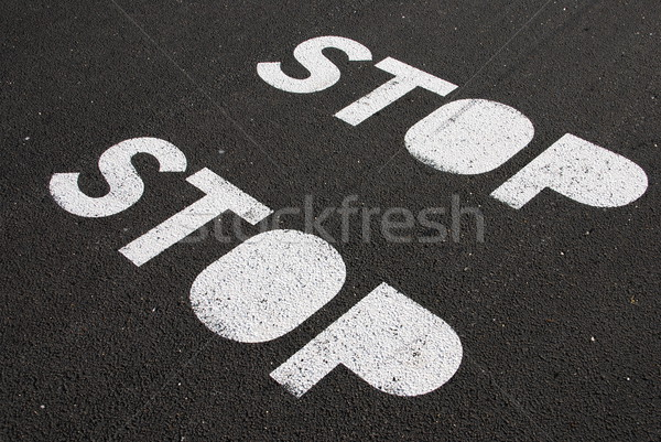 Stop sign Stock photo © luissantos84