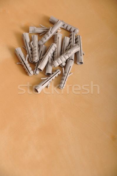 Plastic dowels Stock photo © luissantos84