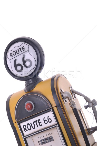 Antique fuel pump Stock photo © luissantos84